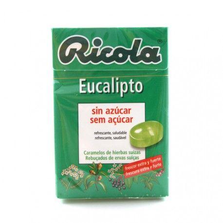 Ricola Caramelos de Eucalipto Sin Azucar 50 gr.
