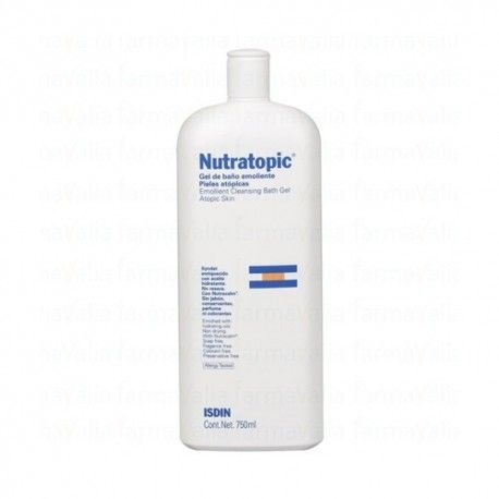 NUTRATOPIC GEL DE BAÑO EMOLIENTE 750 ML.