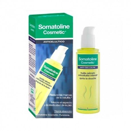 Somatoline Cosmetic Aceite Sérum Anticelulítico Intensivo Despues de la Ducha 125 ml.