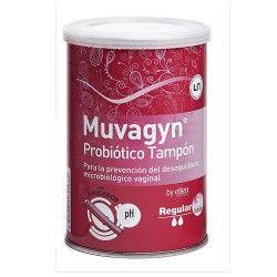 MUVAGYN PROBIOTICO TAMPON REGULAR C/APLIC. 9U