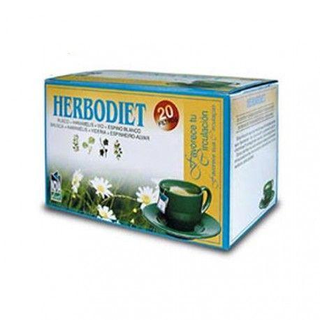 Herbodiet Favorece Tu Circulación 20 Filtros