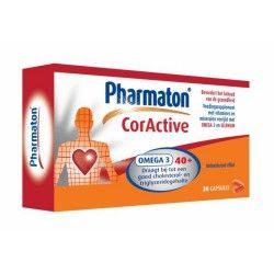 PHARMATON CORACTIVE 30 CAPSULAS