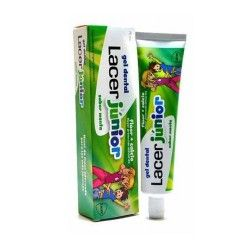 GEL DENTAL LACER JUNIOR MENTA 75 ML.