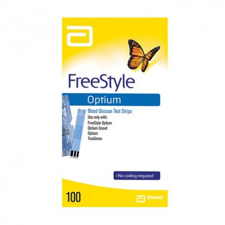 FREESTYLE OPTIUM PLUS 100 TIRAS GLUCOSA