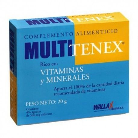 MULTITENEX 40 CAPSULAS