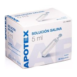 SOLUCION SALINA ACH 5 ML 30 UD.