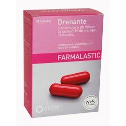 FARMALASTIC DRENANTE 30 CAPSULAS