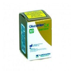 GLUCOMEN LX SENSOR TIRAS REACTIVAS 1X10