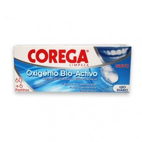 Corega Oxígeno Activo 60+6 Tabletas