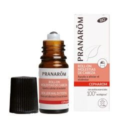 Pranarom Cepharom Roll-On Molestias de Cabeza 5 ml.