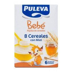 PULEVA BEBE 8 CEREALES CON MIEL 600GR