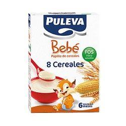 PULEVA BEBE 8 CERREALES FOS 600GR