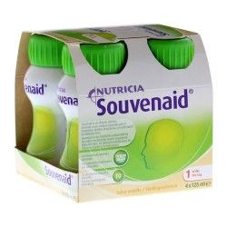 SOUVENAID VAINILLA PACK 4 BOT. 125 ML