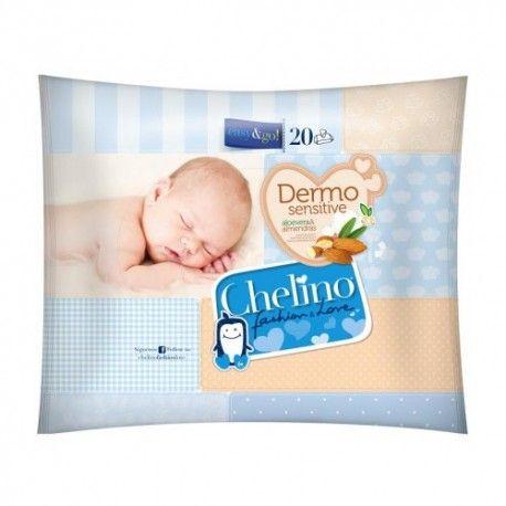 TOALLITAS INFANTILES CHELINO 20 UND.