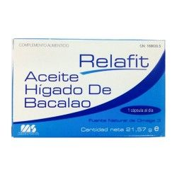 ACEITE HIGADO DE BACALAO 710MG 30+30CAP.
