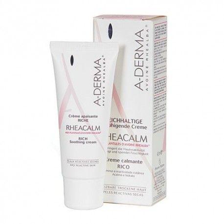 A-derma Rheacalm Crema Calmante Enriquecida 40 ml.
