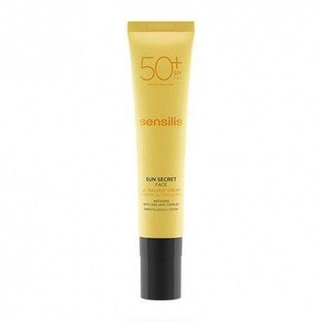 Sensilis Sun Secret Crema Facial Ultraligera SPF 50+ 40 ml.