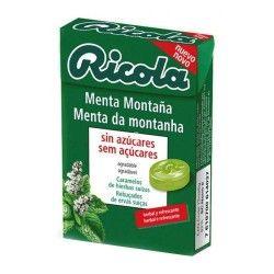 Ricola Caramelos de Menta Montaña Sin Azúcar 50 gr.