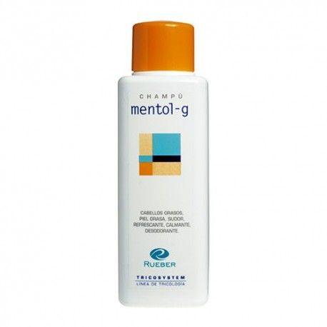 Rueber Tricosystem Mentol-G Champú Refrescante 220 ml.
