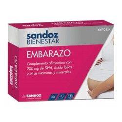 BIENESTAR EMBARAZO SANDOZ 30 CAPSULAS