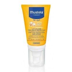 Mustela Leche Solar Muy Alta Protección Especial Cara SPF 50+ 40 ml.