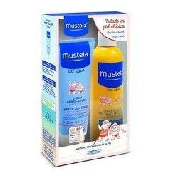 Mustela Pack Leche Solar Infantil SPF 50+ 300 ml. + After Sun Spray 125 ml.