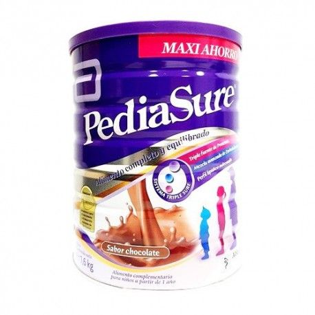 Pediasure Polvo Sabor Chocolate Formato Maxi Ahorro 1600 gr.