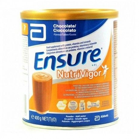 Ensure Nutrivigor Chocolate Lata 400 ml.