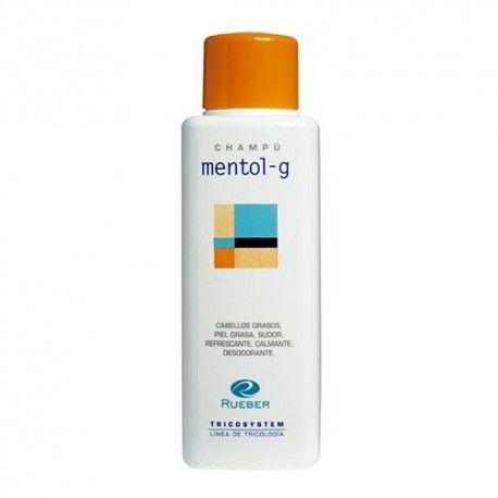 Rueber Tricosystem Mentol-G Champú Refrescante 400 ml.