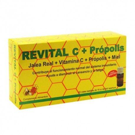 Revital C + Própolis 20 Ampollas