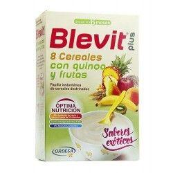 Blevit Plus 8 Cereales con Quinoa y Frutas 300 gr.