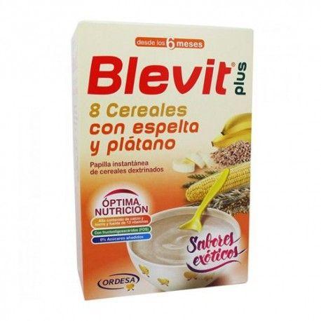 Blevit Plus 8 Cereales con Espelta y Plátano 300 gr.