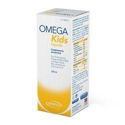 Omega Kids Líquido Sabor Limón 100 ml.