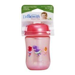 Dr. Brown's Mi Primer Vaso con Pajita 270 ml.