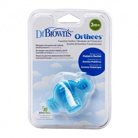 Dr. Brown's Orthees Mordedor de Transición Azul