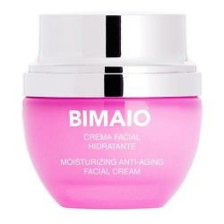 Bimaio Crema Facial Hidratante Iluminadora Antiedad 50 ml.