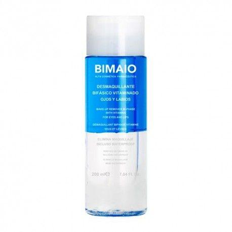 Bimaio Desmaquillante Bifásico Vitaminado Ojos y Labios 200 ml.