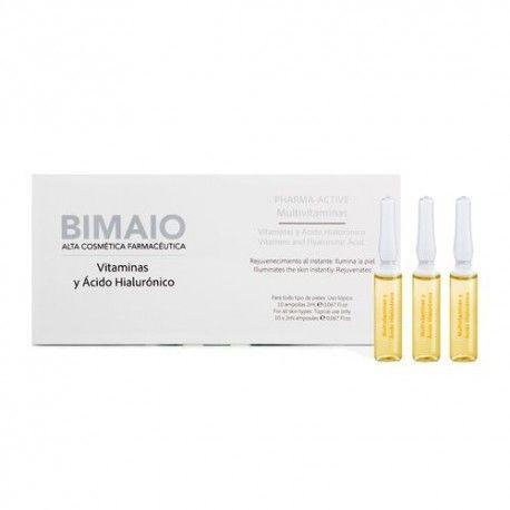 Bimaio Multivitaminas y Ácido Hialurónico 10 Ampollas