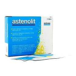 Astenolit 12 Sobres Efervescentes Sabor Limón