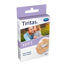 Tiritas Soft 20 Unidades de 4 Tamaños