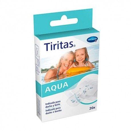 Tiritas Aqua 20 Unidades de 3 Tamaños