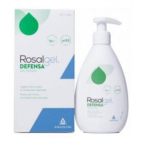 Rosalgel Defensa Gel Íntimo 250 ml.