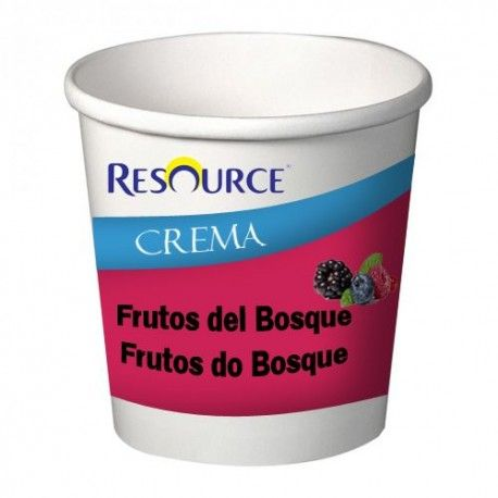 RESOURCE CREMA FRUTOS DEL BOSQUE 24X125G.