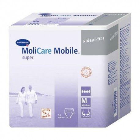 MoliCare Mobile Super Medium Braguita 14 Unidades