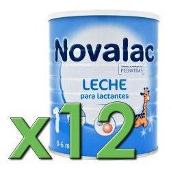 Novalac 1 800 gr. Pack 12 Unidades