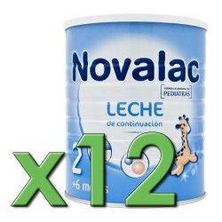 Novalac 2 800 gr. Pack 12 Unidades
