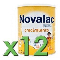 Novalac 3 Crecimiento 800 gr. Pack 12 Unidades