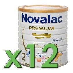 Novalac 2 Premium 800 gr. Pack 12 Unidades