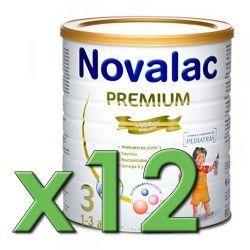 Novalac 3 Premium 800 gr. Pack 12 Unidades