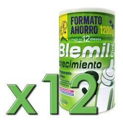 Blemil Plus 3 Crecimiento Formato Ahorro 1200 gr. Pack 12 Unidades